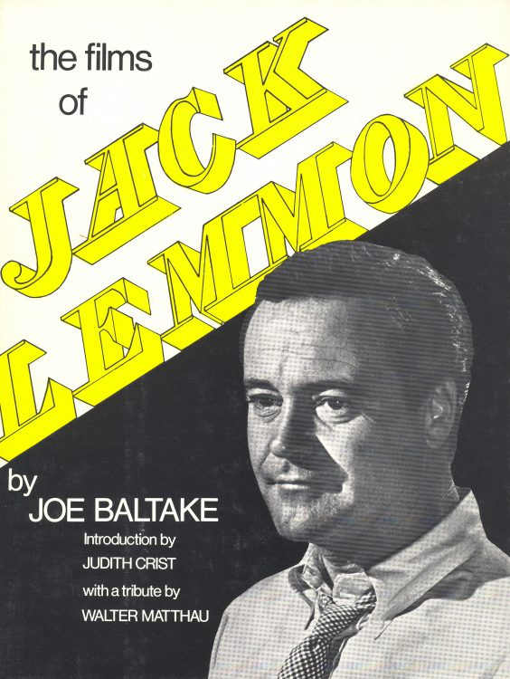 Baltake, Joe - The Films of Jack Lemmon