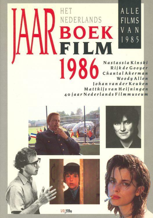 Het Nederlands Jaarboek Film 1986