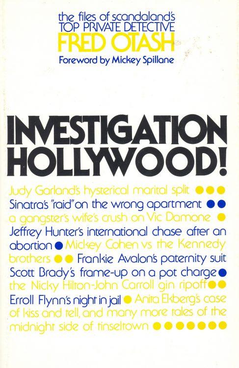 Otash, Fred - Investigation Hollywood