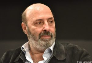 Cédric Klapisch during his interview in Brussels