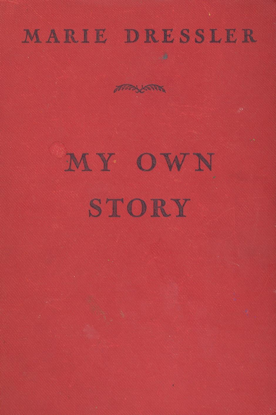 dressler-marie-my-own-story