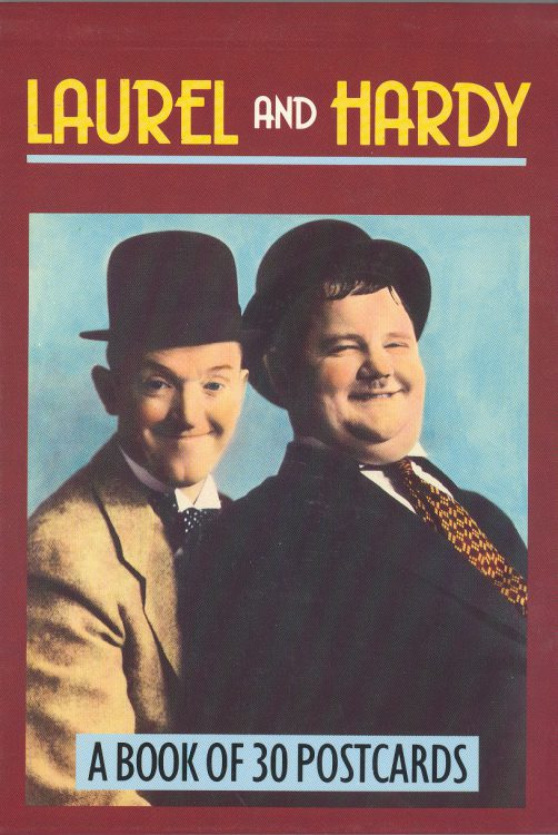 laurel-and-hardy-a-book-of-30-postcards