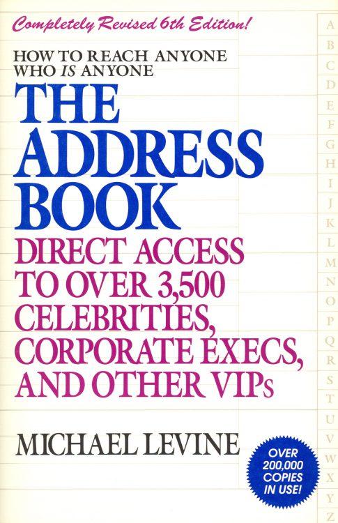 Levine, Michael - The Address Book
