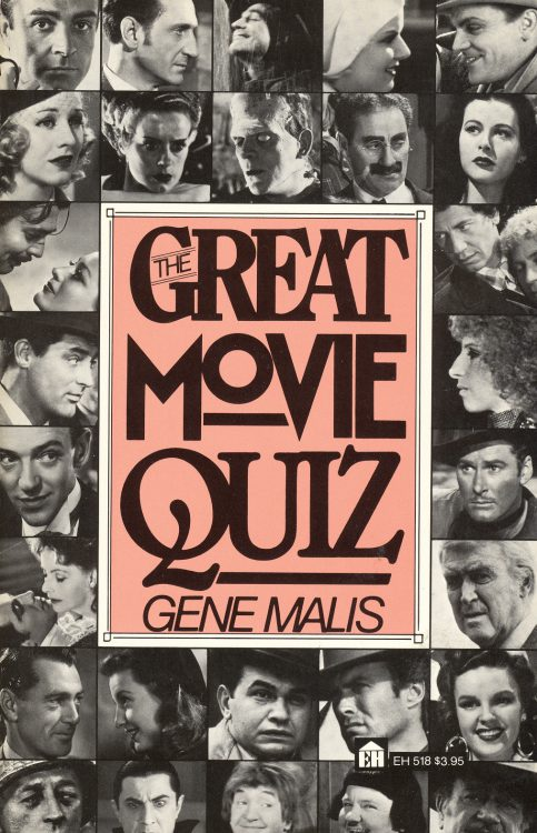 Malis, Gene - The Great Movie Quiz