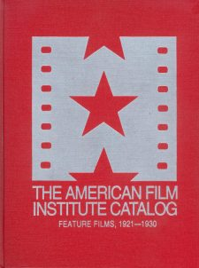 the-american-film-institute-catalog-feature-films-1921-1930