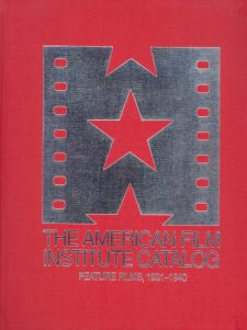 the-american-film-institute-catalog-feature-films-1931-1940