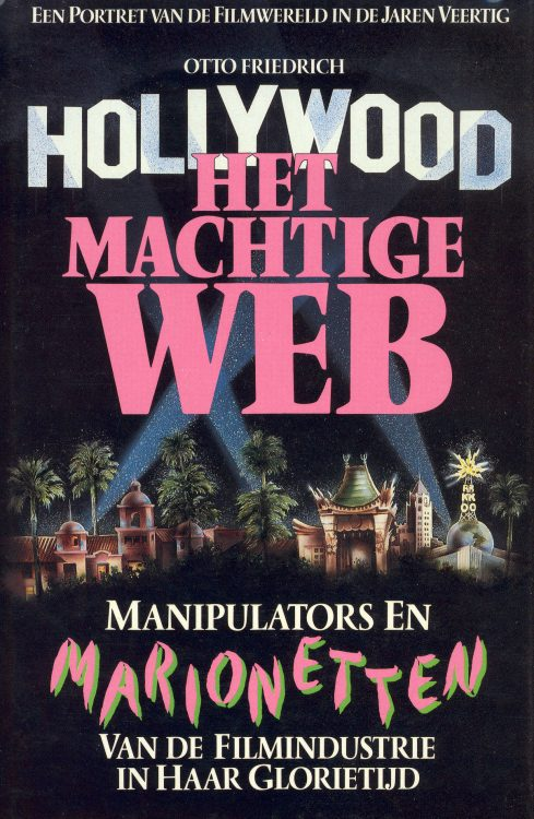 friedrich-otto-hollywood-het-machtige-web-met-dust-jacket